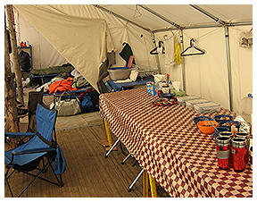 Large Camp Tent