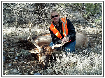 Woman with Trophy Kill